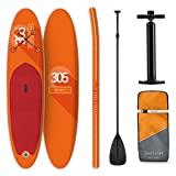 Tabla Paddle Surf Hinchable • SPREESTAR 305x10x77 cm SUP Surf • Paddleboard • Bomba Aire •...