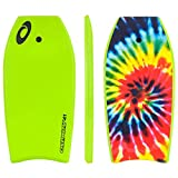 Osprey 41' Bodyboard by Kids Adults Body Boogie Board with Leash