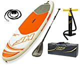Bestway 65302 - Tabla Paddle Surf Hinchable Hydro-Force Aqua Journey Bestway (274x76x12 cm) con remo...