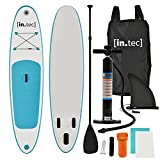 [in.Tec] Tabla de Surf Hinchable remar de pie Paddle Board 305 x 71 x 10cm Tabla de Sup de Aluminio...