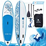 redder Tablas Paddle Surf Hinchables Vortex Pro Doble Capa All Round 10' Tabla Stand Up Paddle - Kit...