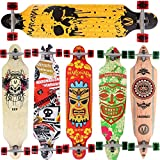 Longboard Skateboard MARONAD drop through Race Cruiser ABEC-11 Skateboard 104x24 cm Streetsurfer...