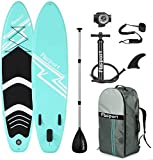 FBSPORT Tabla Sup Hinchable, Hinchable de Paddle Surf, Tabla de Surf Hinchable, Sup Kit con Remo de...